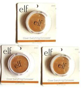 Elf Cover Everything Concealer Under Eye Cream Medium New X3