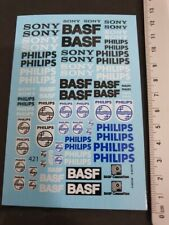 DECALS 143 au 1/24 SONY / BASF / PHILIPS - T421