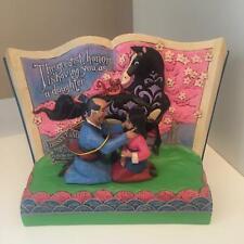 Disney Traditions Mulan Storybook 4059729 - NEW DAMAGED