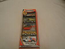 2001 Matchbox 5 Pack Gift Set Ultra Rescue Mattel Wheels 97214 NIP