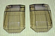 (2) 4x7 Smoke Color Hinged Nose Canopy ~ Lego ~ NEW
