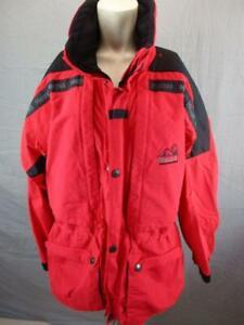 Marmot Size XL Mens Red Full Zip GoreTex Breathable Performance Ski Jacket T311