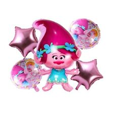 5pcs/lot Trolls balloons Troll helium foil Gift ballon for party supplies