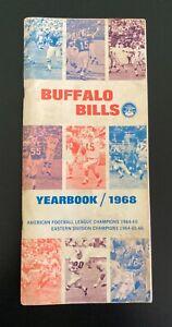 Vintage 1968 Buffalo Bills AFL Media Guide / Yearbook