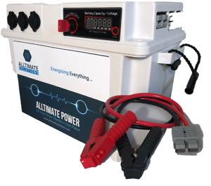 WEEKENDER Power Box / Inbuilt VSR / Wiring Kit plus Jump Cable