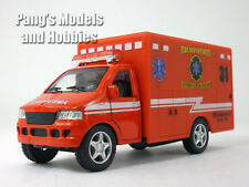 5 inch Fire Deptartment (Red) Ambulance Model by Kinsfun