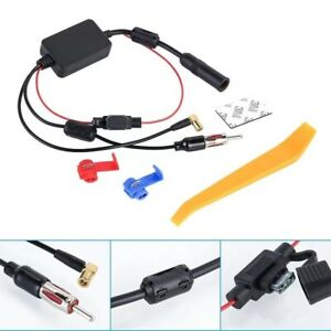 ✅ DAB+ KFZ Splitter Adapter Antennen Antennenverstärker DAB Frequenzweiche AUTO