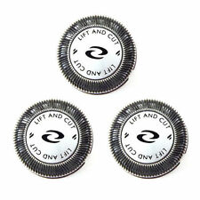 3x Shaver Heads Blade + DOUBLE Cutters for Philips Norelco HQ56 HQ55 HQ4+HQ3