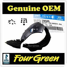 Genuine Fender Liner wheel guard Front Right Genesis Coupe 2012-2015[868122M500]