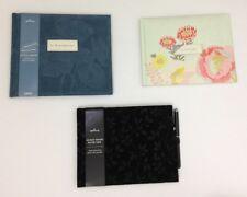 Hallmark Guest Book Lot 3 New Customize