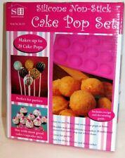 Silicone Non-Stick Cake Pop Set Makes Up To 20 Cake Pops Includes Recipe