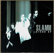 """SLAMM - 7"""" - Stand Up.  UK Picture Sleeve.  Pwl"""