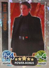 Topps Star Wars Das Erwachen der Macht Force Attax General Hux 218 Power Bonus