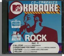 Karaoke CD+G - MTV Rock Hits Vol 4 - New Singing Machine CD! Everything You Want