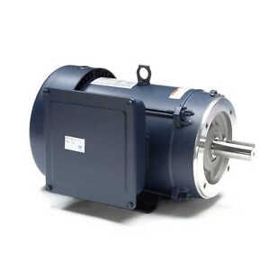 Leeson Electric Motor 140694.00 7.5 HP 3450 Rpm 1-PH 208-230 Volt 213TC Frame