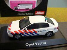 1/43 Schuco Opel Vectra Polizei Niederlande weiss