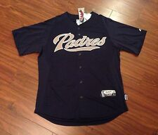 San Diego Padres Authentic BP Jersey Majestic Men's Large New With Tags