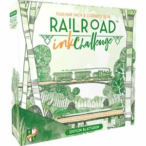Würfelspiel Railroad Ink Challenge: Edition Blattgrün