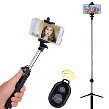 Bluetooth Selfie Stick Stange Stativ Monopod Selbstauslöser IOS Android