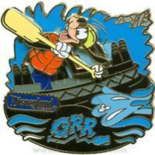 Disney Pin 70016 DLR Celebrate the Mountains Grizzly River Run Goofy Rafting LE