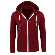 New Men's Winter Hoodie Warm Coat Jacket Slim Hooded Sweatshirt Outwear Sweater
