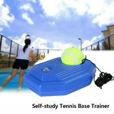 Single Tennis Trainer Selfstudy Training Tool Exercise Baseboard Sparring US