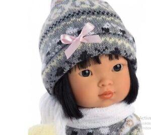 poupée réaliste asiatique lu promenade 28 cm de miguel llorens neuf