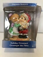Rare Precious Moments Mommy Kissing Santa Claus 2015 Ornament Figurine - New