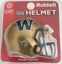 WASHINGTON HUSKIES NCAA Riddell SPEED POCKET PRO Mini Football Helmet