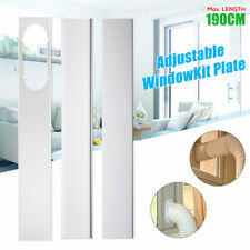 3PCS Adjustable 190CM Window Slide Kit Plate For Portable Air Conditioner