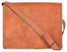 Bag Leather Men Cuero Shoulder Messenger Satchel Briefcase Laptop Brown Handbag