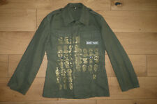 Punk Royal Military Green Canvas Jacket size S