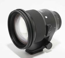 Sigma ART 105mm F1.4 Canon EF inkl Zubehör + Gewäh