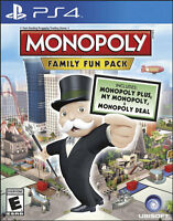 Monopoly Family Fun Pack PS4 GAME BRAND NEW SEALED