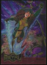 1995 Marvel Metal Blaster Trading Card #10 Rogue