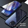 COVER per iPhone 12 Pro Max Mini Alluminio MAGNETICA 360° DOPPIO VETRO TEMPERATO