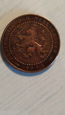 1904 Netherlands One Cent Coin