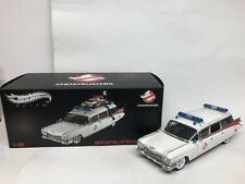 Cadillac Ghostbusters Ecto-1. Hotwheels Elite . 1/18 Scale. Boxed .