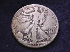 1943-D WALKING LIBERTY HALF NICE COIN--NO RESERVE!!!    #2564