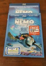 Finding Nemo (2003) Collector's Edition Blu-ray and Dvd 3-discs Disney Pixar