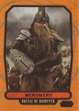 "Star Wars Galactic Files 2 - #451 Red Parallel Card ""Merumeru"" #19/35"