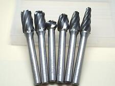 6 Stück THK Wolfram Karbid Aluminium Fräser 6mm Schaft 10mm Kopfdurchmesser