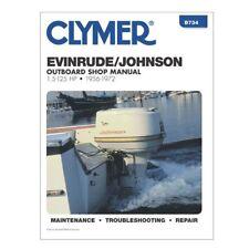Clymer EVINRUDE Johnson OUTBOARD Shop Repair Manual 1.5 125 HP 1956 1972