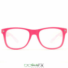 GloFX Ultimate Diffraction Glasses Rave Party Fashion Goggles – Pink