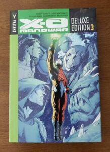 X-O Manowar Deluxe Ed Book Three Vol 3 Valiant Comics HC Hardcover GN Venditti