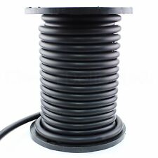 "1"" Solid Rubber Cord - 10 Feet - Buna 70 Durometer - Black 1.0"" Round - O-Ring"
