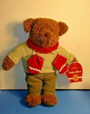 Collectible Hallmark Teddy Mittens Plush Doll Toy Bear