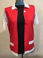 RED POKEMON TRAINER Costume -  Adult Men's Small  Jacket  Pokemon GO