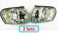 2 Sets (DHL) - for SUBARU IMPREZA GC8 CC8C 1995-2000 Corner Lights Lamps - Clear