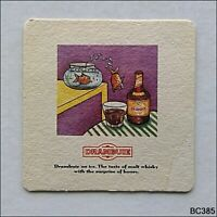Drambuie on ice The taste of malt whisky with the surprise honey Coaster (B385)